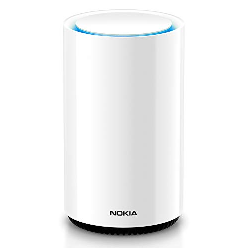 Price comparison product image Nokia WiFi Beacon 3 Router System - Intelligent,  Seamless Whole Home WiFi Coverage Extender - Connect Your Whole House Wifi Network,  ULTRA FAST Self-Healing Mesh Router System - Single (1-pack)