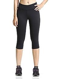 Baleaf Pantalon corsaire/legging de yoga/course à pied pour femme