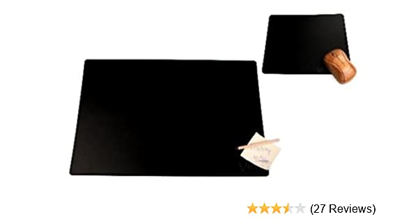 Schreibunterlage Schreibtisch-Unterlage 60x40cm Recyceltes Leder recycelbar