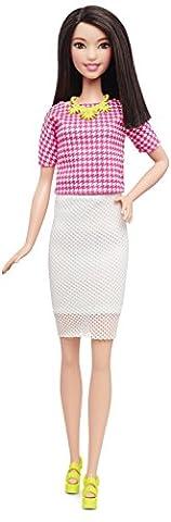 Barbie - DMF32 - Fashionistas 30 - Look Blanc Et Rose Extra