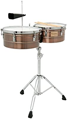 Tycoon Percussion TTI-1314ACR acrílico Timbales