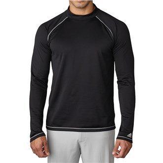 Schwarz Mock Turtleneck (adidas ClimawarmTM Mock Turtleneck Baselayer; Color:Black; Size:XL)