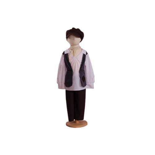 Eddy Urchin Boy (Victorian) - Kids Costume 9 - 11 years by A2Z (Kostüm Boy Urchin)