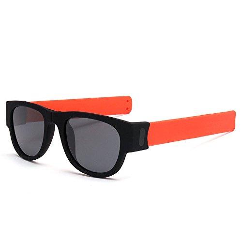 xuexue Color Legs Sunglasses Folded Polarized Sport Fashion Riding Wrists Sunglasses Personality Retro Sun Visor Joker Goggles