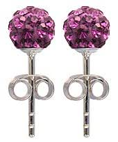 Silver Swarovski crystal stud earrings or pendant by BodyTrend © - bling bling!! - packed in a gift box - shipped from UK, delivery 2-3 days