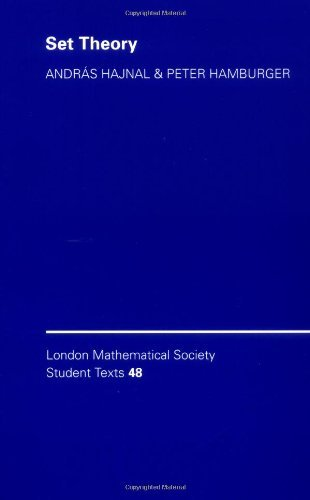 LMSST: 48 Set Theory (London Mathematical Society Student Texts) by Hajnal/Hamburger (2008-01-12)