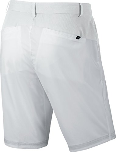 Nike Modern Herren Hose Tech Woven Short 38 Weiß/Grau (Nike Schuhe Tasche Golf)
