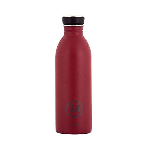Produktbild 24Bottles Edelstahl Trinkflaschen urban bottles country red rot 1Liter