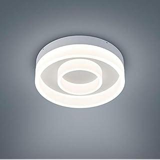 Helestra LED Deckenleuchte Liv Weiß Matt IP30 | LEDs fest verbaut 3780lm warmweiß | 25/1734.07