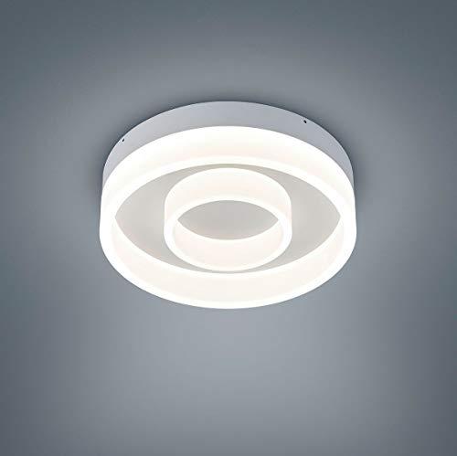 Helestra LED Deckenleuchte Liv Weiß Matt IP30   LEDs fest verbaut 3780lm warmweiß   25/1734.07