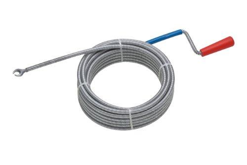Meister Rohrreinigungswelle Ø 9 mm x 10 m - Flexible Spirale mit Kralle - Umweltfreundliche Lösung für hartnäckige Verstopfungen/Abflussspirale/Rohr-Reinigungssspirale/Abflussreiniger / 9405500