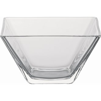 Utopia CD681 Glass Quadro Bowls, Small, 100 mm Depth, 4