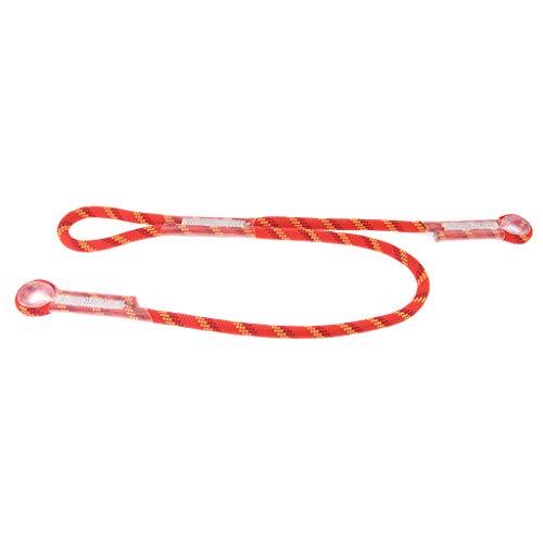 Descripción:       - El cable prusik precosido de ojo a ojo tipo Y está hecho de nailon de alta calidad, resistente a la abrasión, resistente y duradero, duradero y ligero - Un enganche de fricción o un nudo usado para sujetar un lazo de cabl...