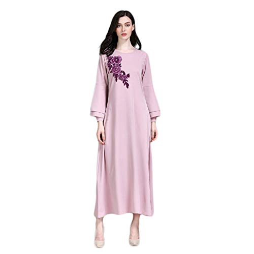 Estivo Donna Gonne Vestito Donna Invernale Lana Casual Gonna Lunga Scozzese Donna Abito,Vestito,Gonna Lunga,Dress,Maxi Gonne da Stampa in Chiffon Qinsling