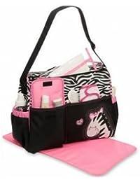 Generic Mummy Giraffe Zebra Pattern Diaper Bags Tote Baby Care Storage Handbag