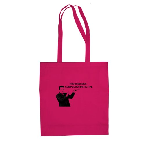 The Obsessive Compulsive Detective - Stofftasche / Beutel Pink