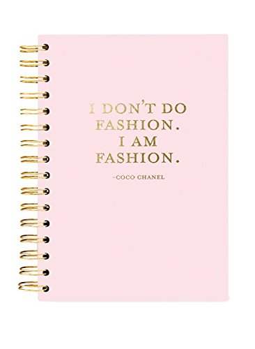 Hard Bound Journal: I am Fashion - Hardcover-Notizbuch mit stabiler Ringbindung: Ich bin Fashion: Unser langlebiges Notizbuch für den täglichen Schreibbedarf