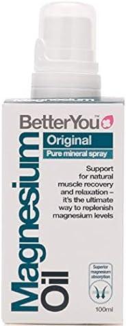 BetterYou, Huile de Magnésium Originale en Vaporisateur - 100 ml (l'emballage peut Var