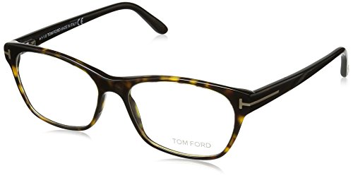 Tom Ford Damen Ft5405 Brillengestelle, Braun (AVANA SCURA), 54