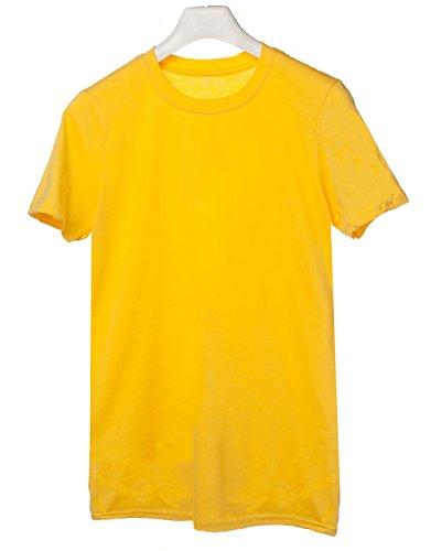 Tshirt Soccer Evolution - evolution - calcio - soccer - football - sport - humor - in cotone Giallo