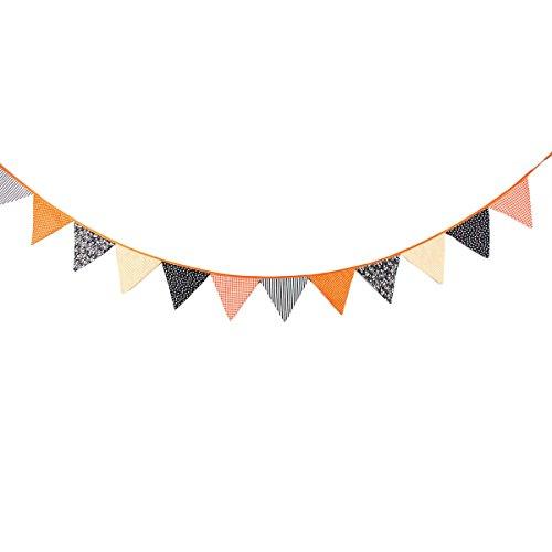Halloween Bunting Banner Wimpel Dreieck Flagge Banner Girlande für Party Dekoration, Packung von (Halloween Bunting)