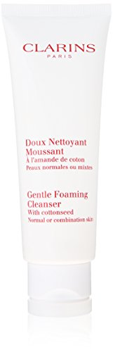 Clarins Gentle Foaming Cleanser ,Normal Or Combination Skin, Donna, 125 ml