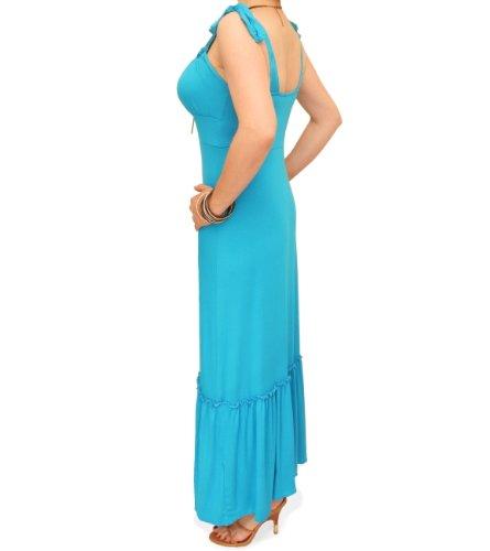 Blue Banana - Gypsy-Maxi kleid Blau