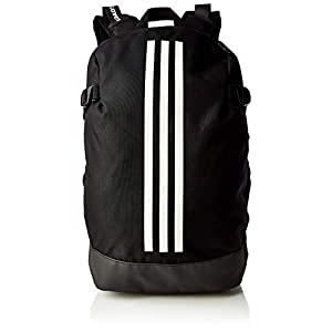 adidas BP Power IV LS Mochilla, Unisex Adulto, Black/White/White, M