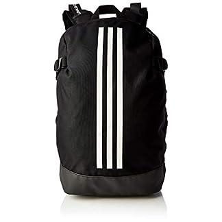 adidas BP Power IV LS Gym Backpack, Unisex Adulto, Black/White/White, M