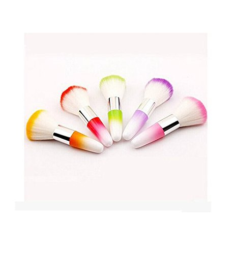 .3 - Convenient Colourful Nail Brush For Acrylic &