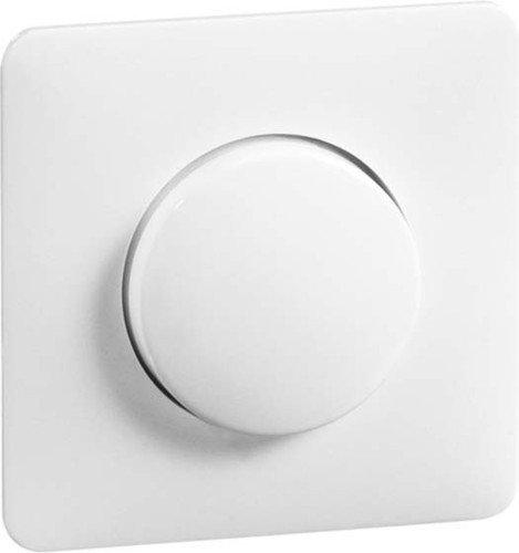 peha Abdeckung mit Knopf ws D 80.610 HR W für Kombination Standard Abdeckung/Bedienelement für Installationsschalterprogramme 4010105150810 -