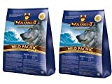"""'Lupo Sangue Wild Pacific con pesce di mare """"Confezione risparmio 2X 2kg"""