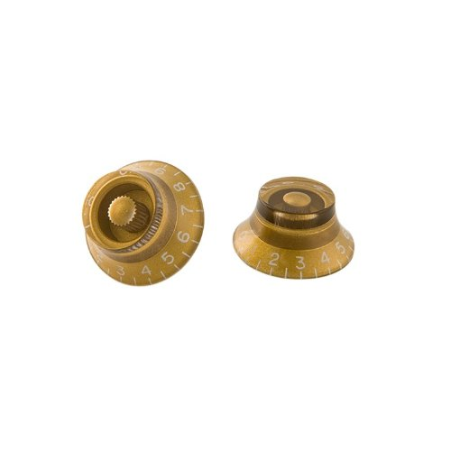 Gibson Top Hat Knob gold Set (4 Stück) (PRHK-020) Les Paul Gold Top