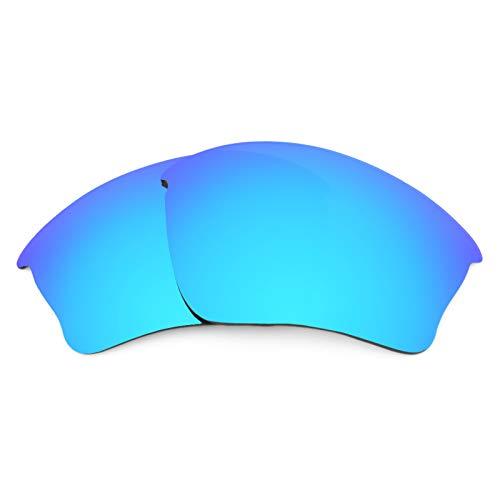 Revant Ersatzlinsen für Oakley Half Jacket XLJ Polarisierung Eisblau MirrorShield® Asian Fit