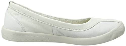 Softinos Iku315sof, Escarpins femme Blanc - Blanc