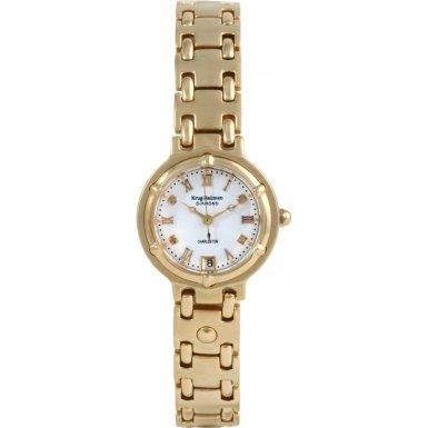 krug-baumen-5116dl-charleston-4-diamond-white-dial-gold-strap