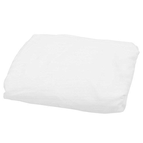 sourcingmap 190 x 99 x 30cm Weiß Baumwollmischungen Matratzen Spannbetttuch - Twin-size-matratze-abdeckung