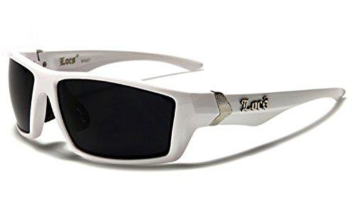 Locs Sonnenbrillen Mode - Fashion - Strand - Stil - Ski - Abend Powder Weiß