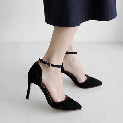 FLYRCX Autunno e Inverno moda donna semplice tacco alto tacco scarpe tacco B