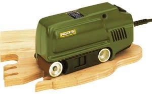 Preisvergleich Produktbild Bandschleifer Proxxon BBS/S 150 W, in Geschenkverpackung + 10 Klett (5 x G120 & amp 5 x G240)
