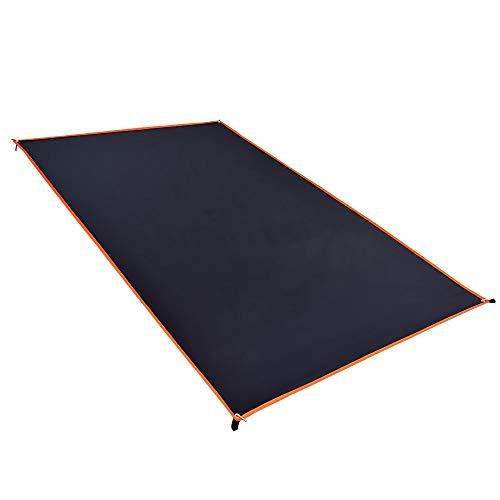 GEERTOP 20D Ultraleichte Zeltunterlage Wasserdicht 2-Personen Schutzplane/Gewebeplane /Zeltplanen/Zeltmatte/Zeltunterlage (160g) Für Zelt,Wanderungen,Camping,Picknick (210cm*90cm) -