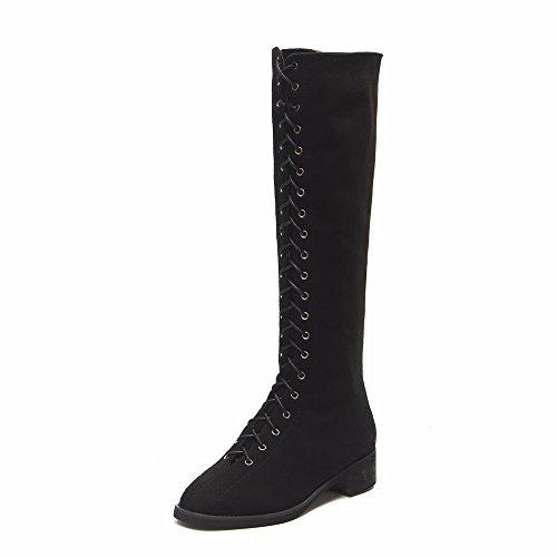 FLYRCX La signora di autunno e inverno personalità di moda Bretelle confortevoli antiscivolo per scarpe e stivali A