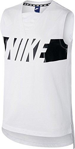 Nike Short New Tempo Track pour Femme Blanc (blanc / noir)