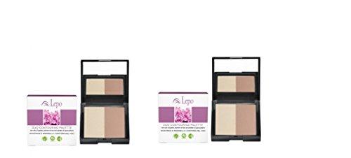 lepo-2-paquets-de-duo-palette-contouring-pour-corrige-et-rimodella-les-traits-du-visage