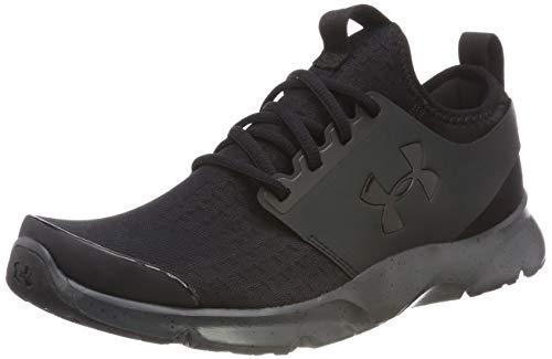 Under Armour Herren Drift Running Laufschuhe, Schwarz (Black/Stealth Gray), 41 EU - Schuhe Tops High Under Armour