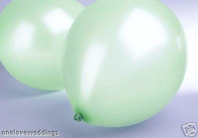 Confetti Heaven 25x 14menta verde lujo helio boda cumpleaños celebración...