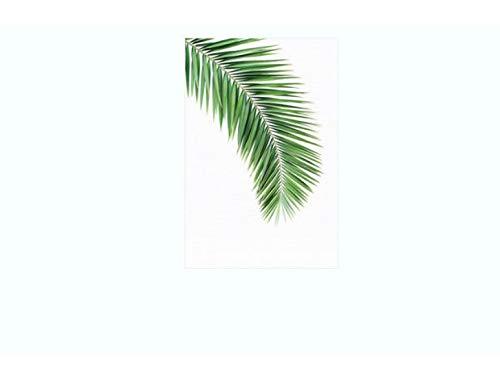 libby-nice Gefrostem Glas Patch Tropisches Blatt Schlafzimmer Fensteraufkleber Eine Scrub Elektrostatik-Breite 45x60cm - Tropische Scrub