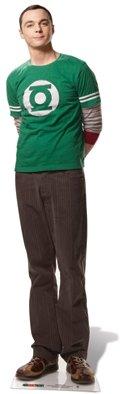 Pappaufsteller Dr. Sheldon Cooper - Big Bang Theory Aufsteller Standup Figur Kinoaufsteller Pappfigur Cardboard Lebensgroß Life-Size Standup