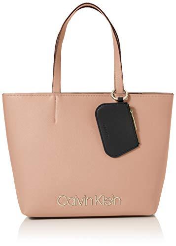 Calvin Klein Damen Ck Must Med Shopper Tote, Pink (Nude), 11x27x39 cm