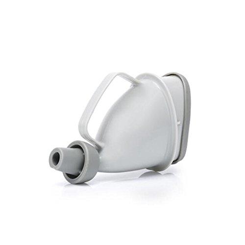 WYF Weiblicher Männlicher Urinal-Unisexwasserlassen-Gerät, Wiederverwendbarer Tragbarer Trichter-Reise-Pipi-Flasche Für Camping-Notfall Im Freien Sitzen Oder Stehen